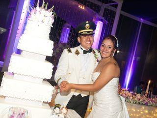 El matrimonio de Gyno y Roxana