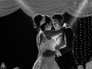 El matrimonio de Diego y Cynthia