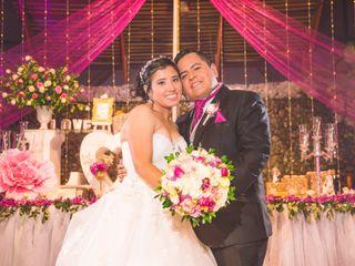 El matrimonio de Haydee y Luis