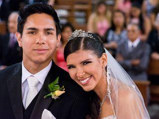 El matrimonio de Carol y Rodrigo