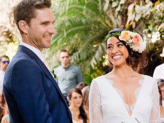 El matrimonio de Thalia y Roland