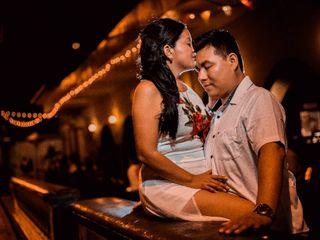 El matrimonio de Rosa Ysabel  y Doyo 3