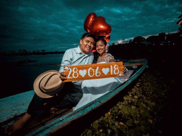 El matrimonio de Rosa Ysabel  y Doyo