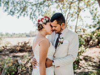 El matrimonio de Fiorella y Victor