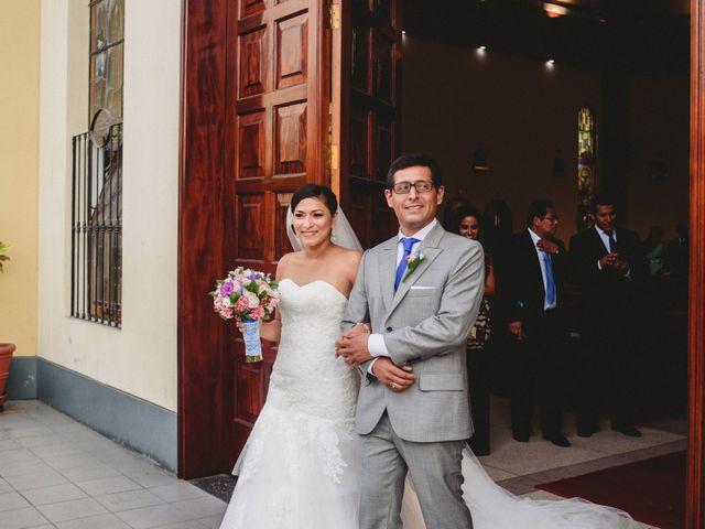 El matrimonio de Maritza y Alan