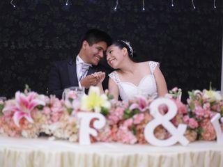 El matrimonio de Vasti y Fabián 1