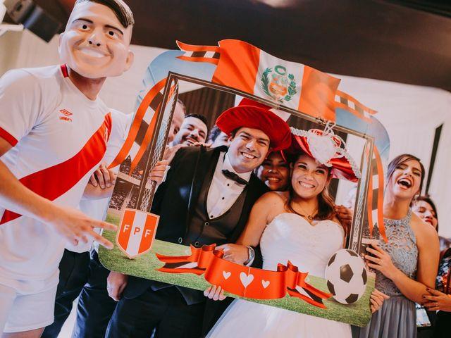 El matrimonio de Eduardo y Fiorella en Santiago de Surco, Lima 100