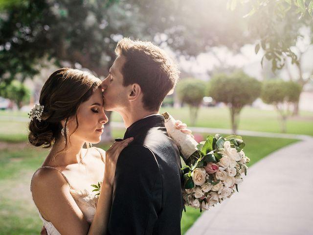 El matrimonio de Silvana y Andres