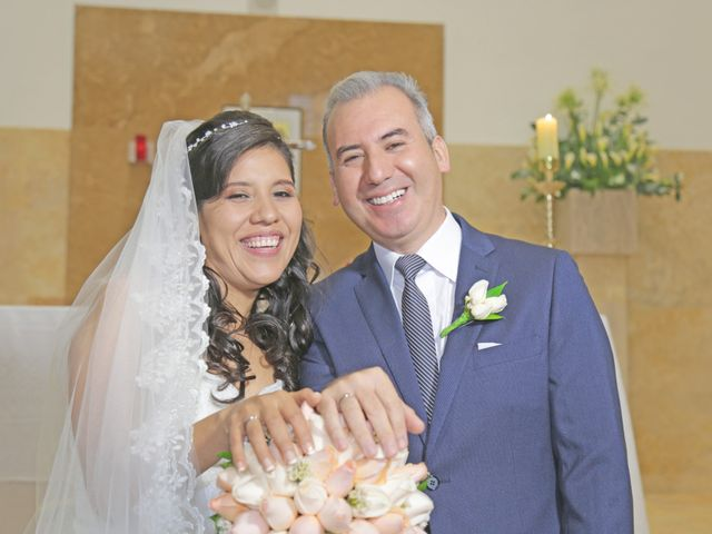El matrimonio de Sandro Salcedo y Lizet Astete