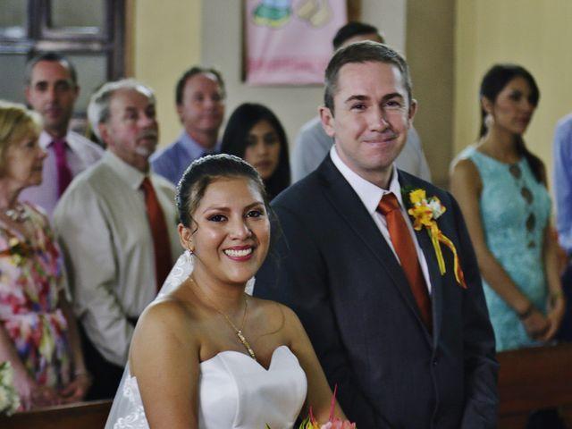 El matrimonio de Magaly y Mark