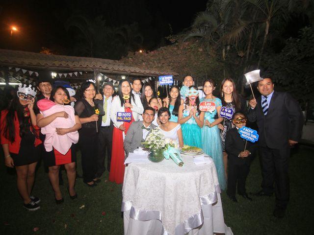 El matrimonio de Karen y Leonel en Lurigancho-Chosica, Lima 43