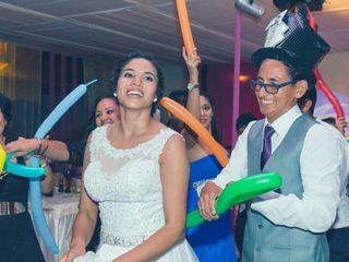 El matrimonio de Mónica y Roberto