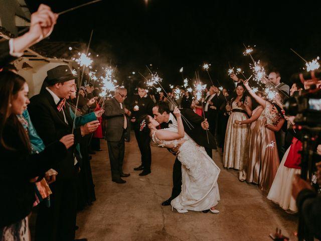 El matrimonio de Emelyn y Salvador