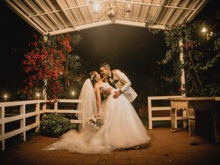 El matrimonio de Roxana y David