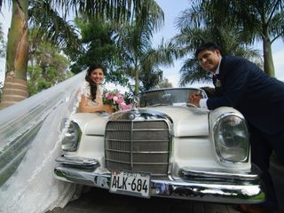 El matrimonio de María Claudia y Carlos