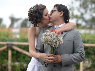 El matrimonio de Lala y Pedro