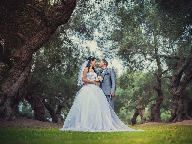 El matrimonio de Ana Rosa y Ángel