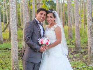 El matrimonio de Lorena Patricia  y Walter David