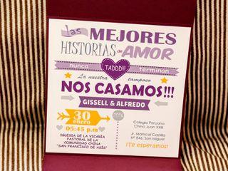 El matrimonio de Gissell y Alfredo 3