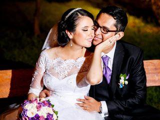 El matrimonio de Gissell y Alfredo