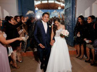 El matrimonio de Kelly y Denis