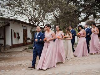 El matrimonio de Javier y Erica 1