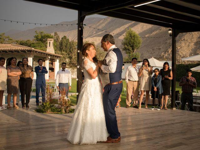 El matrimonio de César y Esther en Cieneguilla, Lima 2