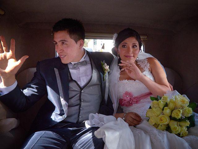 El matrimonio de Victoria y Alejandro