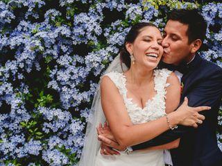 El matrimonio de Solange y Dante 1