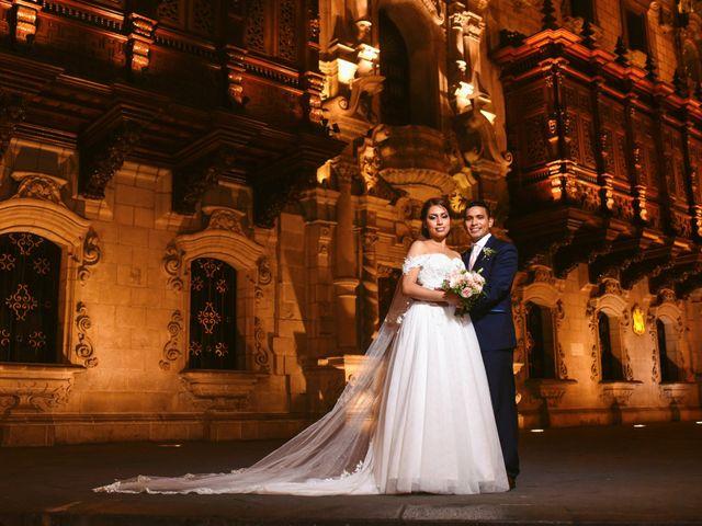 El matrimonio de Deysi y Pablo
