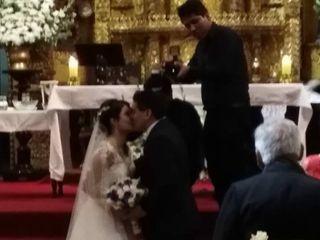 El matrimonio de Lucía y Junior 1