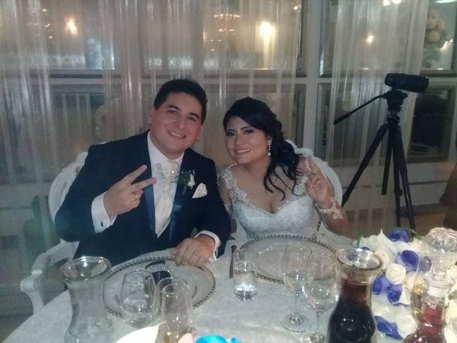 El matrimonio de Lucía y Junior
