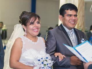 El matrimonio de Eduardo y Cinthia