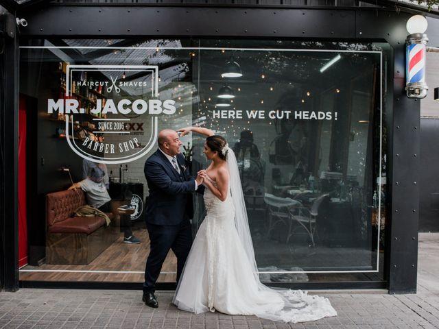 El matrimonio de Mercedes y Renato