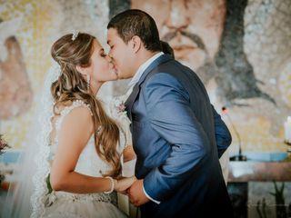 El matrimonio de Javier y Karina