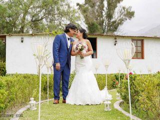 El matrimonio de Raquel y Duilio