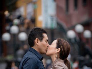 El matrimonio de Cynthia y Diego 1