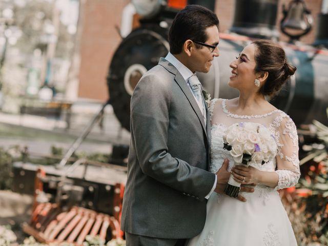 El matrimonio de Cynthia y Diego
