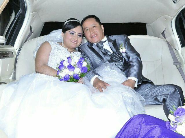 El matrimonio de Pamela  y Lucio