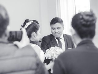 El matrimonio de Sandely y Javi 2