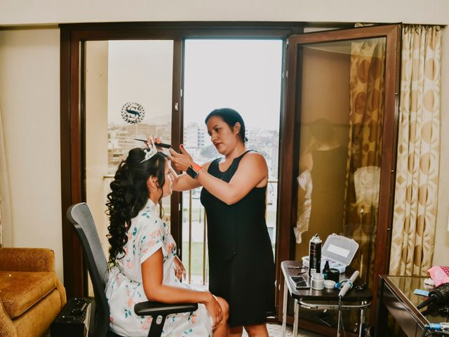 El matrimonio de Josué y Areli en Ate, Lima 6