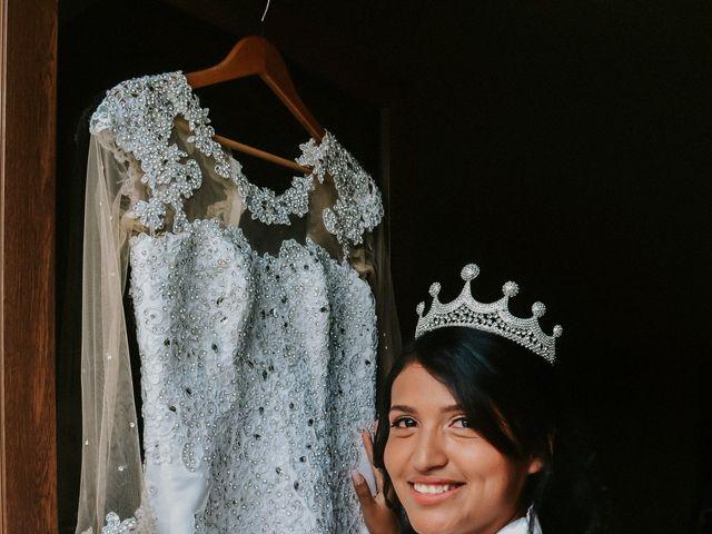 El matrimonio de Josué y Areli en Ate, Lima 8