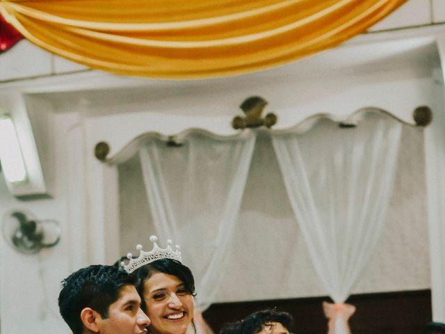 El matrimonio de Josué y Areli en Ate, Lima 11