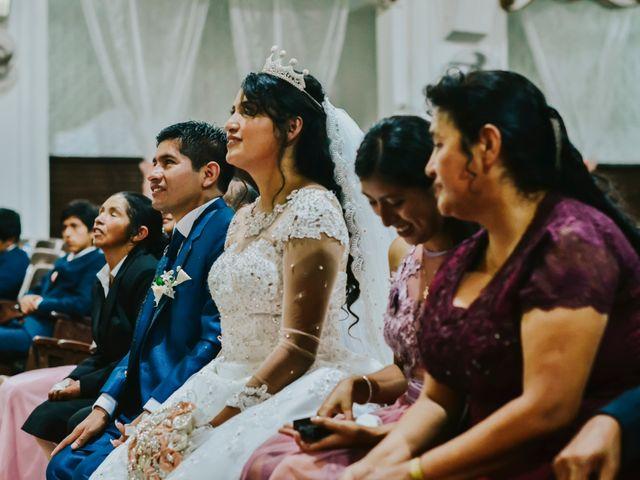 El matrimonio de Josué y Areli en Ate, Lima 12