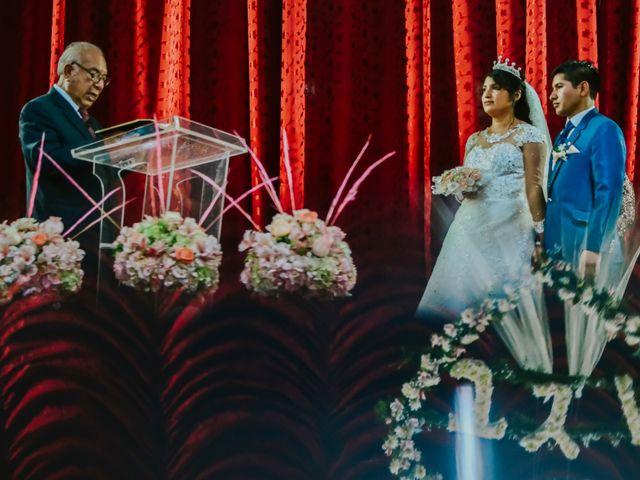 El matrimonio de Josué y Areli en Ate, Lima 13