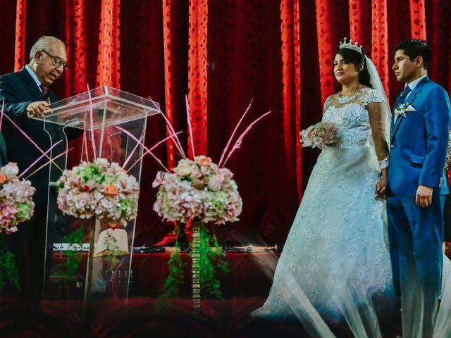 El matrimonio de Josué y Areli en Ate, Lima 14