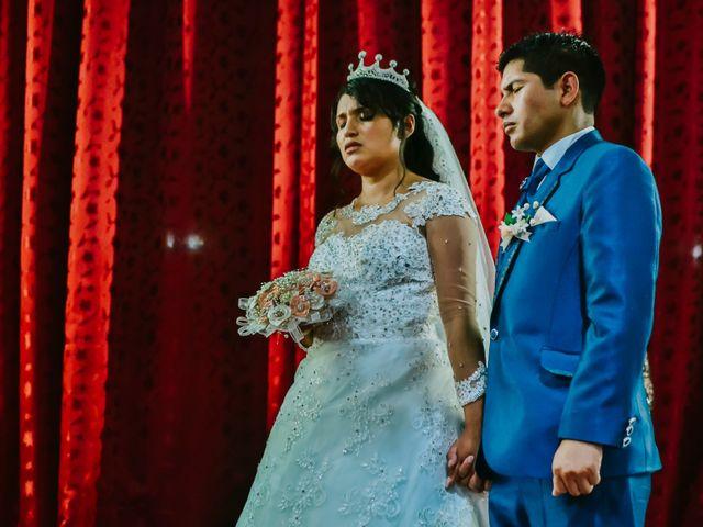El matrimonio de Josué y Areli en Ate, Lima 16