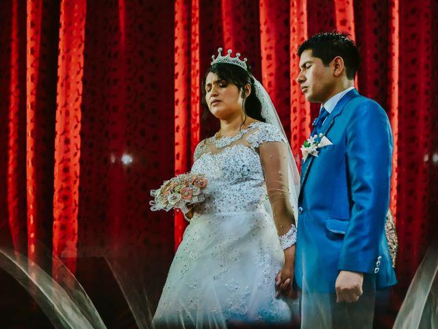 El matrimonio de Josué y Areli en Ate, Lima 17