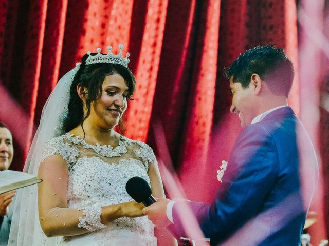 El matrimonio de Josué y Areli en Ate, Lima 18