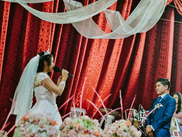 El matrimonio de Josué y Areli en Ate, Lima 19